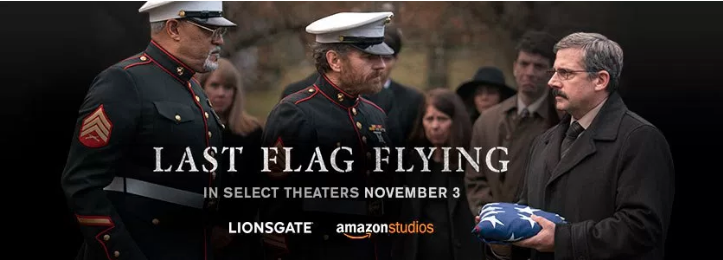 Last Flag Flying In select Theaters November 3 Lionsgate and AmazonStudios